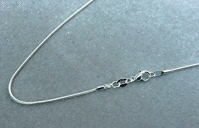 """2Mm Solid 925  Sterling Silver Snake Chain Necklace  16 18 20 22 24 26 """" Inch Uk"""