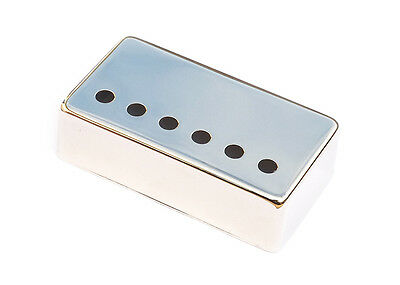 Nickel Silver Humbucker Guitar Pickup Cover • Nickel • 50mm