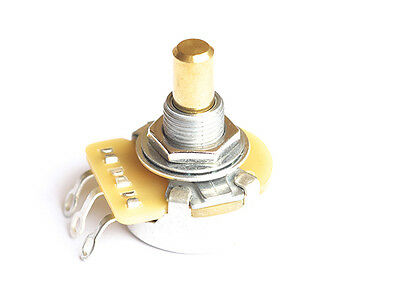 CTS Pot Guitar Potentiometer • USA • 250k • Solid Shaft • Audio Taper