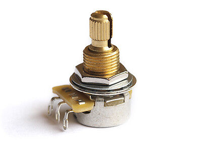CTS Mini Pot Guitar Potentiometer • USA • 500k • Split Shaft • Audio Taper