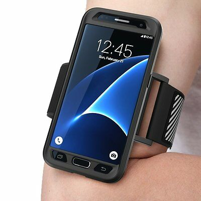 New !! SUPCASE Samsung Galaxy S7 - Easy Fitting Sport Case and Running Armband
