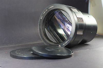 35 NAP 2-3 F=80:100 1:1,8 USSR movie projector lens *AS IS!*
