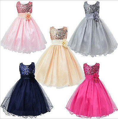 Vestito Cerimonia Feste Party Girl Princess Dress CDR041