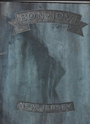 Bon Jovi New Jersey Songbook Sheet Music Song Book