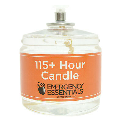 Emergency Essentials, 115 + Hour Candle - 1 ct