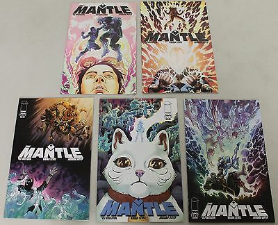 Image: The Mantle (2015) #1-5 COMPLETE SET