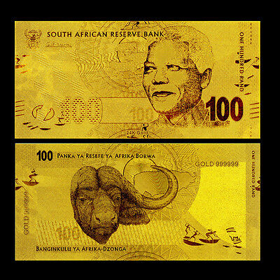 100 South Africa Rand 2012 Gold 24K