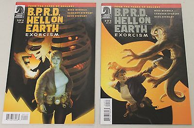 Dark Horse: BPRD:Hell on Earth - Exorcism (2012) 1-2 COMPLETE SET