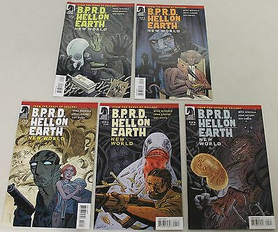 Dark Horse: BPRD:Hell on Earth - New World (2010) 1-3 COMPLETE SET