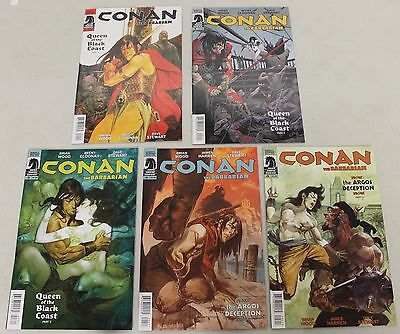 Dark Horse: Conan the Barbarian (2012) #1-10 RUN