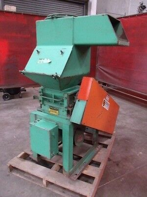 Process Controls Grinder/Granulator 3 Knife Open Rotor - Model Unknown