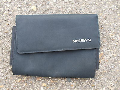 Nissan Black Fabric Documents Wallet