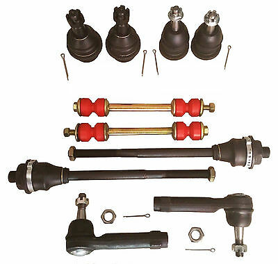 Fit Chevrolet Silverado 1500 (4WD) Ball Joints Tie Rods Links Front end Kit NEW