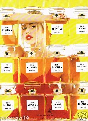 Publicité advertising 1998 Parfum N°5 Chanel
