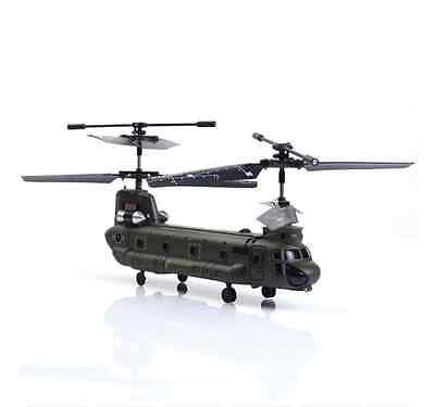 Remote Control Syma S026G 3 CH Mini Chinook RC Helicopter Toy with GYRO New