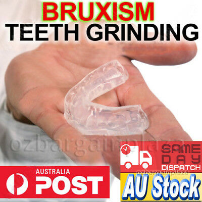 Teeth Grinding Dental Night Guard Splint Tooth Bruxism Sleep Custom MouthGuard