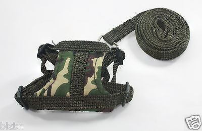 Dark green Leashes lead pet soft harness small pet Set guinea rat Hamster Ferret