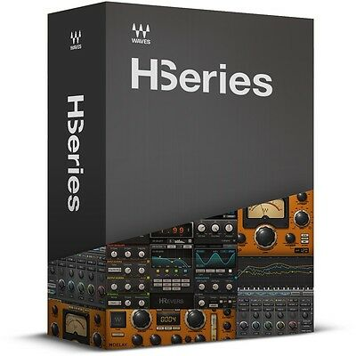 Waves H-Series Plugin Collection H-Reverb H-Comp H-Delay H-Equalizer - NEW