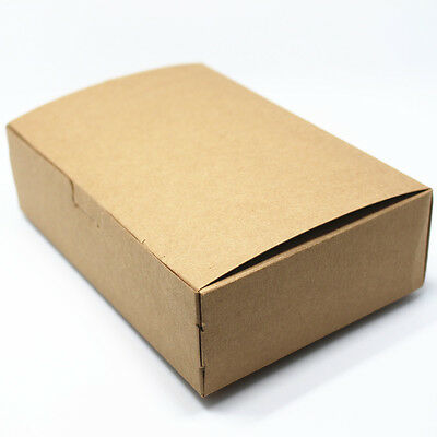 Brown Gift Craft Packaging Kraft Paper Box Wedding Candy Handmade Bakery Boxes