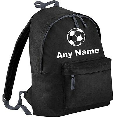 Personalised FOOTBALL Backpack/School/PE Bag. Choice Of Colours.