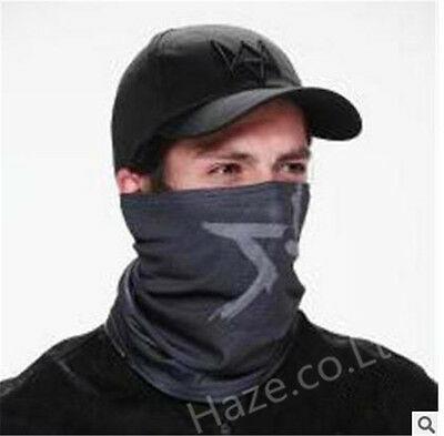 Watch Dogs Video Game Aiden Pearce Cosplay Face MASK or Hat Free Size