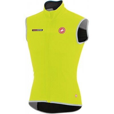 GILET CASTELLI FAWESOME 2 GIALLO FLUO Size M