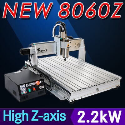 USA ! USB four 4 axis 8060 2200W cnc router engraver engraving milling machine