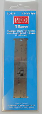 Peco  SCALE RULER SL-320 N Gauge