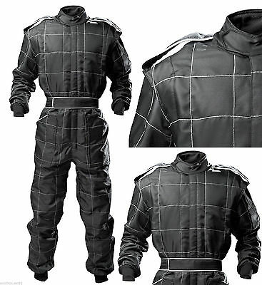 PROBAN GO Kart Race Suit -Black and White New-Special Offer