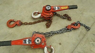 Prcs Tiger Lever Ratchet Block Chain Hoist Winch Pull Lift 3Ton 3000KG, 1.5Mtr