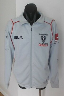 Melbourne Rebels Rabo Direct Rugby Union Zip Up Jacket Men's Size Small