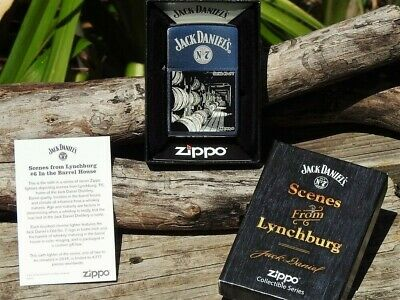 Zippo Lighter - Jack Daniels Scenes from Lynchburg - Limited Edition - Series 6
