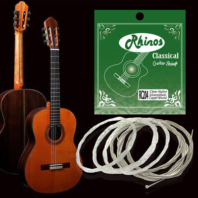 2 Pack String Set for Classical Guitar Replacement,Nylon, RC204N (28-43)