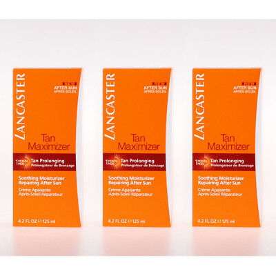 Lancaster After Sun ★ Tan Maximizer Soothing Moisturizer Face and Body 125 - 3x