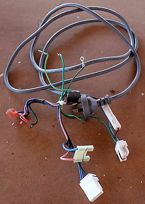 Lg Refrigerator Freezer Gm-B208Sts Part - 240V Power Cable W/ Plugs Connectors