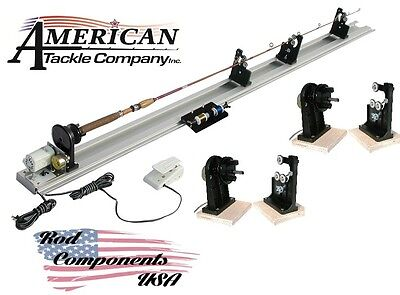 American Tackle Power Fishing Rod Wrapper Kit W/ Dryer 220V and 1 extra dryer
