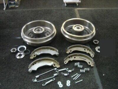 Peugeot 106 206 2 Rear Brake Drum Fitted Bearing Brake Shoe Fitting Kit With Abs