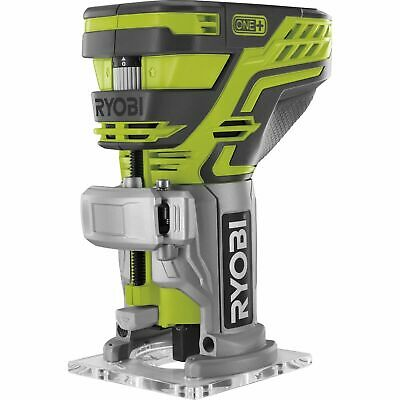 New Ryobi One+ 18V Cordless Trim Router - Skin Only DIY kitchen cabinet wood