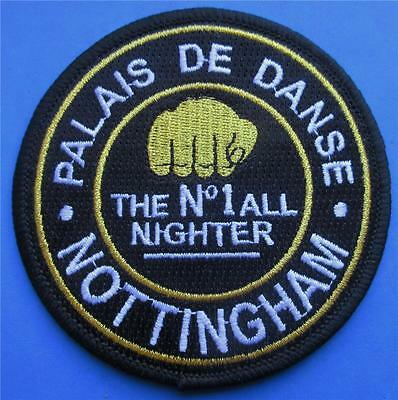 Northern Soul Patch - Palais Nottingham - The No.1 Allnighter