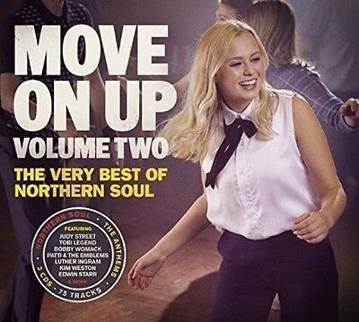Various - Move On Up Volume 2 - The Very Best Of Northern Soul Brand New 3Cd