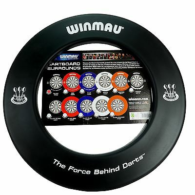 Winmau Black BDO DARTBOARD SURROUND - One Piece