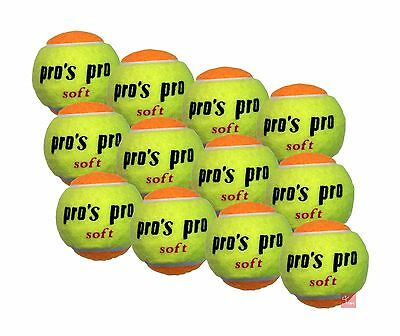 Pro's Pro Stage 2 and 3 Orange Junior Transition Tennis Balls
