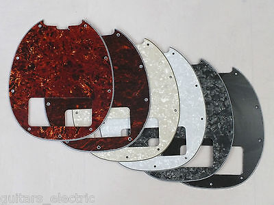 SCRATCH PLATE Pickguard for MUSIC MAN Classic STINGRAY BASS 5 GUITAR 6 Colours