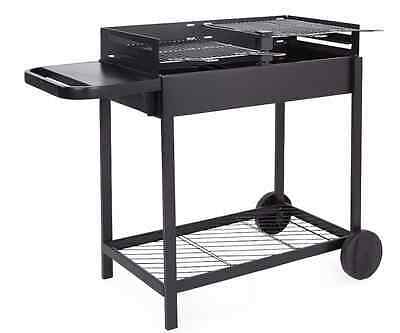 Zelfo Charcoal Family Garden Barbecue, steel outdoor BBQ, grill, camping