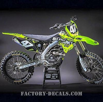 Suzuki Full Plastics and Fluo Graphics RMZ RM 125 250 450 1995-present