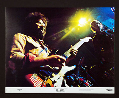 Last Days of Fillmore Lobby Card Set 8 1972 Grateful Dead Santana 11x14