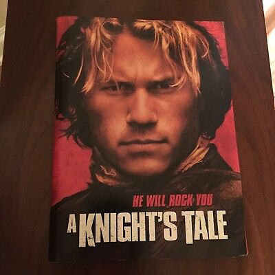 A Knight's Tale Rare Press Kit with 30 Slides and Photos Heath Ledger