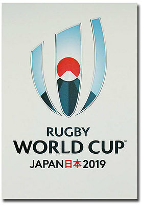 "Rugby World Cup Japan 2019 Logo Fridge Magnet 2.5"" x 3.5"""