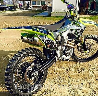 Kawasaki Full Plastics and HPM Graphics KXF KX 125 250 450 1995-present