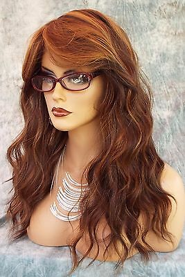 Lace Front Hand Tied Ear To Ear Lace Heat Friendly P4.27.30 Wig Usa Seller 484